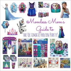 The Ultimate #Frozen Themed #PartyIdeas #kidsparty #birthdayparty