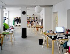 Office/studio space.