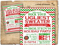 12 Best Ugly Sweater Xmas Party Images On Pinterest Christmas