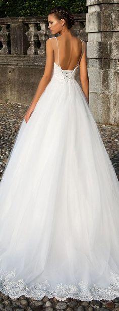 Wedding Dress by Milla Nova White Desire 2017 Bridal Collection - Renata 1