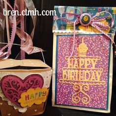 #CTMH #Cricut #ArtfullySent not just for cards! #cardmaking Bren.ctmh.com