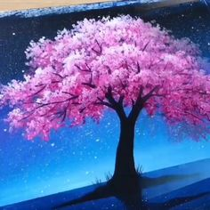 😍 Great art by: Wow Art (YouTübe) – Sanatsal resimler – Malerei Canvas Painting Tutorials, Diy Canvas Art, Oil Painting For Beginners, Canvas Canvas, Art Et Nature, Art Sur Toile, Art Painting Gallery, Image Painting, Sillouette Painting