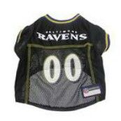 Baltimore Ravens Officially Licensed Dog Jersey - Black  PRS# 10259 Phancipawsonlinepetstore.com