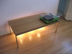 DIY: Table of Light, Warm But Not Bright