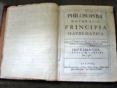 first edition of Sir Isaac Newton's Philosophiæ Naturalis Principia Mathematica