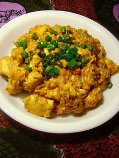 Afrikaanse kip curry, dit is een heerlijk kipgerecht met kip, kerrie, tomaten en kokosmelk.