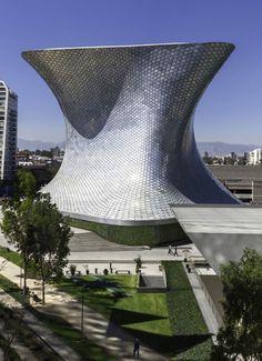 Art Museum in Mexico City designed by Fernando Romero Enterprise - #commercial #architecture