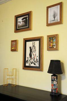 Handmade Birch Plywood Frames by WorkshopHoney on Etsy