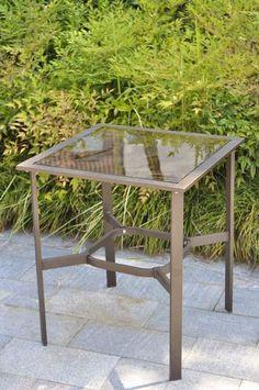 Backyard Creations Branson Steel Side Table at Menards