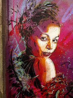 Street artist C215´s work in Oslo (6)