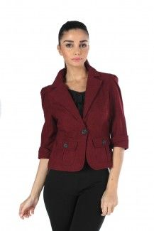 MOJO CLASSIC Jacket IN MAROON  Rs. 1,999