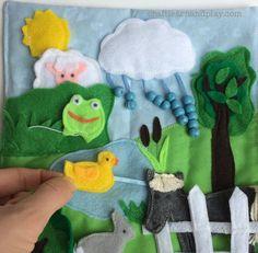 Farm Quiet Book | Craft Learn