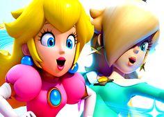 Princess Peach and Rosalina... cuties