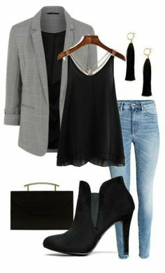 Take off the jacket. Then it's a sexy outfit! # girl # school # school # spring # 2019 # casual # juveniles # boy # men # cute # fashion Take off the jacket. Then it's a sexy outfit! Sexy Outfits, Business Casual Outfits, Casual Winter Outfits, Mode Outfits, Fall Outfits, Fashion Outfits, Womens Fashion, Office Outfits, Casual Summer