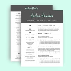 Our  Favorite Resume Templates  Creative Professional Resume And We