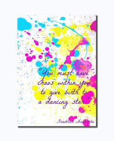 Instant Download PrintInspirational Quote Print by HappyChubbyStar