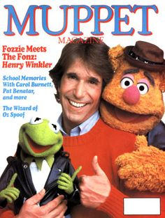 Go Retro!: Fonzie & Fozzie: The Difference Between Two 70s Pop Icons