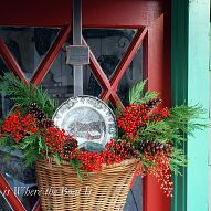 Christmas decorating comes to the Potting Shed with evergreens, nandin… :: Hometalk