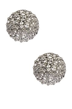 CC Skye Rock Stud Earrings