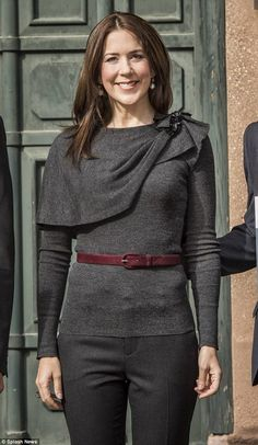 Crown Princess Mary of Denmark - 2015 shoes to match belt colour