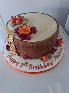 Victoria Sandwich Cake, Autumn Theme, Themed Cakes, First Birthdays, Cake Decorating, Sandwiches, Desserts, Food, Theme Cakes