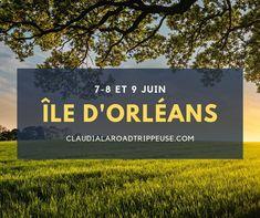 L'été tarde à se montrer le bout du nez, je sais, mais il n'est pas question de baisser les bras! Avez-vous envie d'une dose de grands airs et de bonne humeur? J'espère que oui, car les 7, 8 et 9 juin, je vous ferai voyager nulle part ailleurs qu'à l'Île d'Orléans!  C'est ainsi que l'été débutera officiellement pour plusieurs blogueurs du Québec, dont moi. Lors de cette aventure, je vous ferai découvrir les secrets bien gardés de cette île située à quelques kilomètres de Québec! Paysages… Ainsi, Belle Photo, Amazing, Pictures, Good Mood, Envy, June, Adventure, Photos
