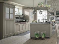 grey kitchen (WWW.HOMEINTRADITION.COM)