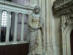 Dans l'église Notre-dame de l'Assomption à Arques-la-Bataille