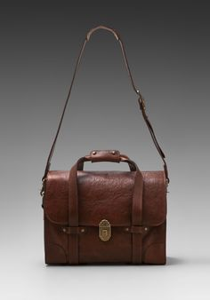 Everett Leather Satchel