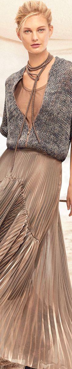 Brunello Cucinelli 3/4-Sleeve Zip-Front Linen-Hemp Cardigan