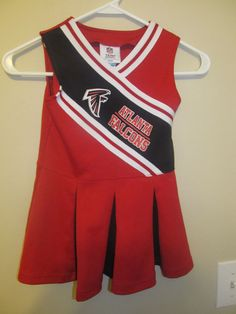 47291509e Atlanta Falcons Cheerleader outfit - NFL Toddler 4T  NFL  AtlantaFalcons  Toddler Jerseys