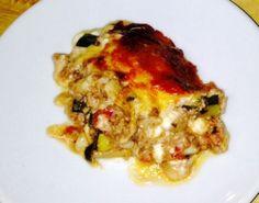 Dukan Diet Recipe Lasagne Casserole