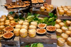 mini pecan pies and peach cobblers | Kim Box