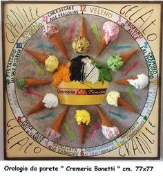 Il gelato : Cremeria Bonetti
