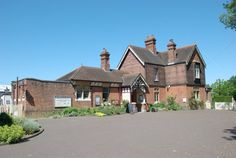 Sheffield Park station, Sussex. The Victorian station master's house and ticket office which was the inspiration for the Old Station House - Charlie and Phoebe's home - in Art and Soul.