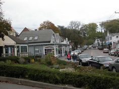View of Main Street in Chatham, MA.   Go to www.YourTravelVideos.com or just click on photo for home videos and much more on sites like this.