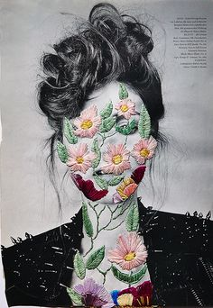 Jose Ignacio Romuss Murphy Embroidery on a Photograph