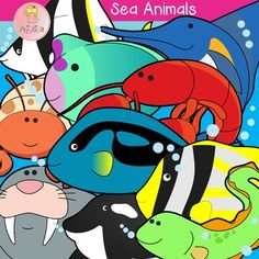 Sea Animals Clip Art contains 20 images files, which includes 10 color images and 10 black & white. These Images can be use for educational products, learning worksheet, class room activities, games, and class decoration. You may use the Clip Art for personal or commercial use.  Picture Art Include: 1. Angel Fish 2. Blue Marlin 3. Eel 4. Hermit Crab 5. Hump head Fish 6. Killer Whale 7. Lobster 8. Palette Surgeon Fish 9. Pork Fish 10. Walrus