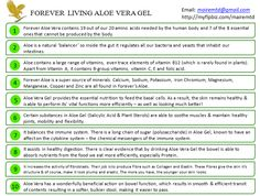 Aloe Drinking gels...reasons to drink!