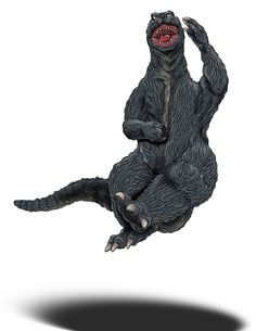 """Dancing Godzilla The, """"Happy Dance of Kicking Butt"""", move...which was inspired by a popular Japanese comedian."""