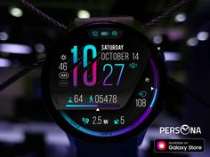 Android Watch Faces, Samsung Gear S, Gear S3 Frontier, Open App, Usb Hub, Microsoft Surface, Tech Gadgets, Smartwatch, Persona