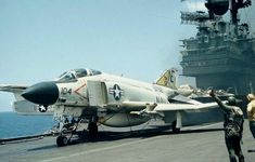 List of McDonnell Douglas Phantom II variants - Wikipedia, the free encyclopedia Us Navy Aircraft, Navy Aircraft Carrier, Military Jets, Military Aircraft, F4 Phantom, Aircraft Maintenance, Aircraft Parts, Flight Deck, Air Show