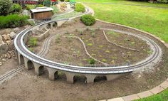 This could make for a great walking track in the backyard or encircling the house. This could lead t