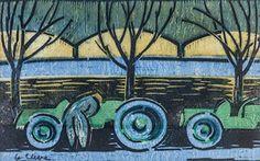 Agnes Cleve - Automobiler, Paris 1915