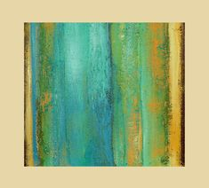 Abstract Acrylic Painting modern original fine art on canvas Titled..Flowing 4.size.30x30 By Ava Avadon