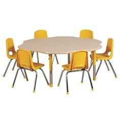 Daycare table and school tables at Daycare Furniture Direct