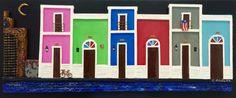 Artesanias de Puerto Rico capilla del Cristo casitas del viejo San Juan old San Juan art and crafts