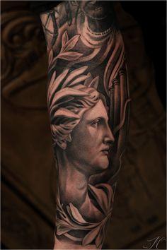 greek goddess tattoos - Google Search