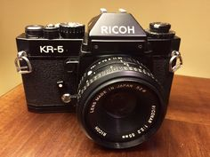 Ricoh, KR-5. 1978, Japan. The original KR-5 is the first in the series, from about 1979, and is the most limited.