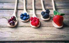 еда, фрукты,  ягоды, ежевика, черешня, черника, малина, ягоды, fresh, berries
